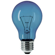2x 60w E27 Daylight Craftlight GLS Blue Filter Bulb Ge Sad Therapy Crafts Lamp