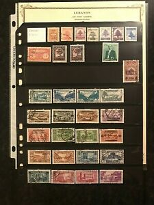 STAMPS FRANCE/ Colony-LIBANON-1905-MINT & USED+3pg #050