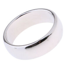 Silver Magnetic Ring Pk Ring Magic Tricks Pro Magic Props Finger Ring 21mm