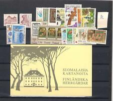 1982 MNH Finland year complete according to Michel system