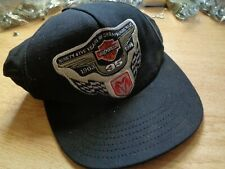 95th Harley Davidson Motorcycle Anniversary AND Dodge Nascar Hat Pace Truck Cap