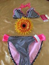 Briefs Synthetic Halterneck Bikini Sets for Women