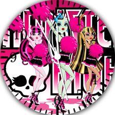 Monster High Frameless Borderless Wall Clock Nice For Gifts or Decor W316