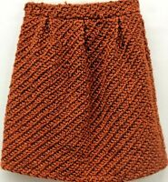 Mm Miss Meme 12y Youth Girls Tweed A Line Skirt Lined New With Tags Ebay