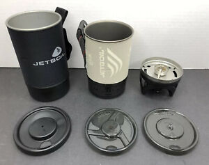 2 Jet Boil Camping Hiking Backpacking Stoves