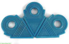 3 Talhakimt Trade Beads Pendants Light Blue Africa Loose