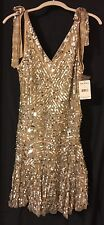 $350 Free People Sold-out, Silver Sequinned Dress, Small, NWT