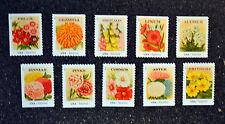 2013USA #4754-4763 Forever Vintage Seed Packets - Set of 10 Booklet Singles Mint