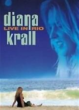 DIANA KRALL Live In Rio DVD BRAND NEW Slipcase PAL Region 0
