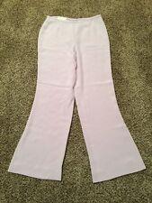 Vintage ESCADA Couture 100% Silk Womens Pants Size 42 EUC