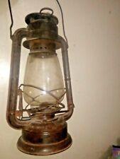 Vintage Old Frowo No.252 Brand Iron Kerosene Oil Lamp / Lantern , Germany