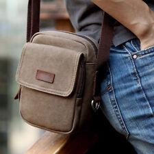 Men Vintage Casual Canvas Crossbody Messenger Shoulder Bag Tote Satchel Handbag