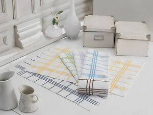 Tea / Kitchen | Terry Towel | Check Design | 100% Cotton | Made in Turkey