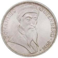 5 DM 500. Todestag von Johannes Gutenberg