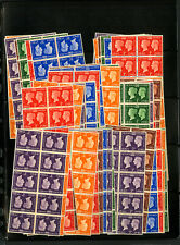 Great Britain Stamps #252-7 Nh Lot of 80x Sets All Nh