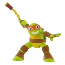 Turtles Half Shell Heroes Michaelangelo TMNT Comansi Toy Figure Cake Topper New