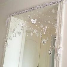 Crystal Bead Curtain Window Curtain Snowflake Curtain Wedding Decoration