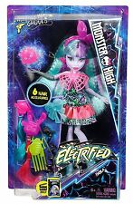Monster High ELECTRIFIED Twyla Hair Raising Ghoul Deluxe Doll - NEW