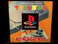 Sony Playstation PS1 Toys 'R' Us Demo Disc 1998 Metal Gear Solid Resident Evil 2