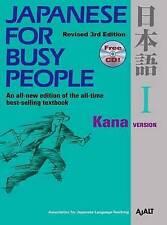 Japanese for Busy People 1: Kana Version by AJALT (Paperback, 2012)