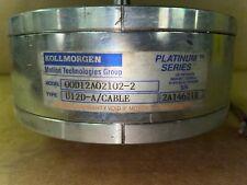 Kollmorgen Servo Disc Dc Motor Model 00d12a02102 2 Type U12d A Cable