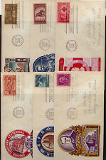 US  First day cover lot,  18 cover  by  cachet craft            KL0901