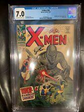 X-Men 34 CGC 7.0 Mole Man and Tyrannus Appearance (OW-W)
