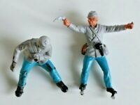 BRITAINS DEETAIL 1971 - AMC American Civil War Gatling Gun Crew & Standard