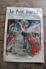 Petit journal dibujada Nº891 1907 Francia chefs Árabes Teniente Roze Spahis Bis