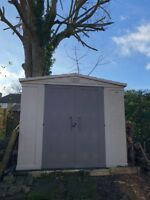 All Weather Maintenance Free Keter Shed 8ft x 8ft (2.5m x 2.5m)