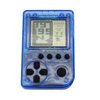 Mini Retro Handheld Tetris Classic Game Console Giochi 26 incorporati Blu