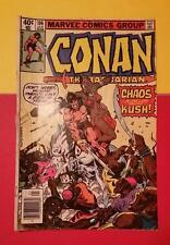 RARE VINTAGE CONAN the BARBARIAN No.106 JAN 1980 MARVEL COMICS CHAOS in KUSH
