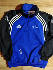 Adidas Vintage FC Vals Swiss Mens Tracksuit Top Jacket Football Soccer Blue