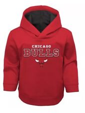 🔥 New Chicago Bulls Basketball NBA Hoodie Sweatshirt 2T Toddler Polyester #U 🔥