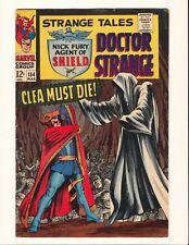 STRANGE TALES #154 Steranko Nick Fury! Dr Strange! Marvel Silver Age HIGH GRADE