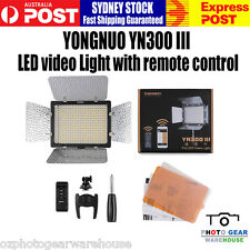 Yongnuo YN-300III LED Photo Video Light With Remote Control 5500K