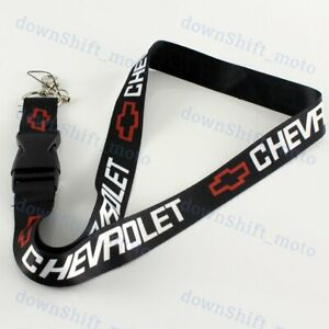 For CHEVY Chevrolet Camaro Keychain Lanyard Quick Release Key chain Black NEW