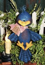 Primitive Robin Blue Bird Chick Doll Ornie Paper Pattern #447