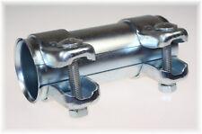 1St. BayWorld Auspuff Universal Rohrverbinder 41x45,5x125mm Doppelschelle 41x125