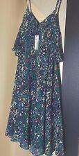 Tracy Reese Flare Flounce Tank Dress Silk Retail $398 Size M