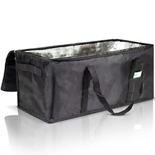 """Commercial Insulated Food Delivery Bag - 22"""" x 10"""" x 10"""" Waterproof Delivery Bag"""