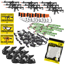 Airsoft Field Kit. Field Package. 10 Player Kit. Valken. ASL Mod-M