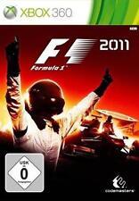 XBOX 360 formula 1 f1 2011 tedesco ottimo stato