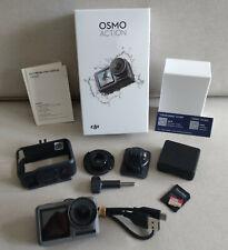 DJI OSMO ACTION CAM 4K + 50 TEILIGES ZUBEHÖRPAKET + 128 GB SD-KARTE *TOP*
