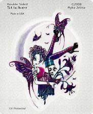 Paige Faery Fairy Sticker Car Decal Myka Jelina goth gothic angel faerie