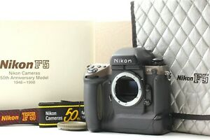 【 MINT in BOX w/ 2 Straps】Nikon F5 50th Anniversary LIMITED 35mm Body from Japan