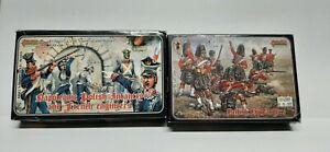 Painted Strelets Napoleonic Polish Infantry,French Engineers,British Highlanders