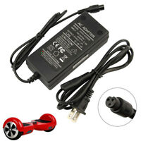 UK Plug Charger Power Adapter For Segway Swegway Hoverboard Balance Board 42V 2A