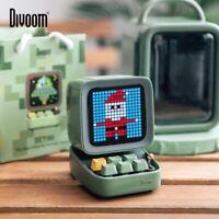 Retro Pixel Art Bluetooth Portable Speaker Alarm Clock DIY LED Screen By APP