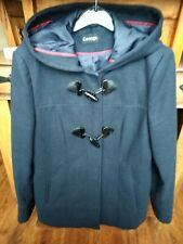 Women's Size 12 winter Duffle Coat  Navy
